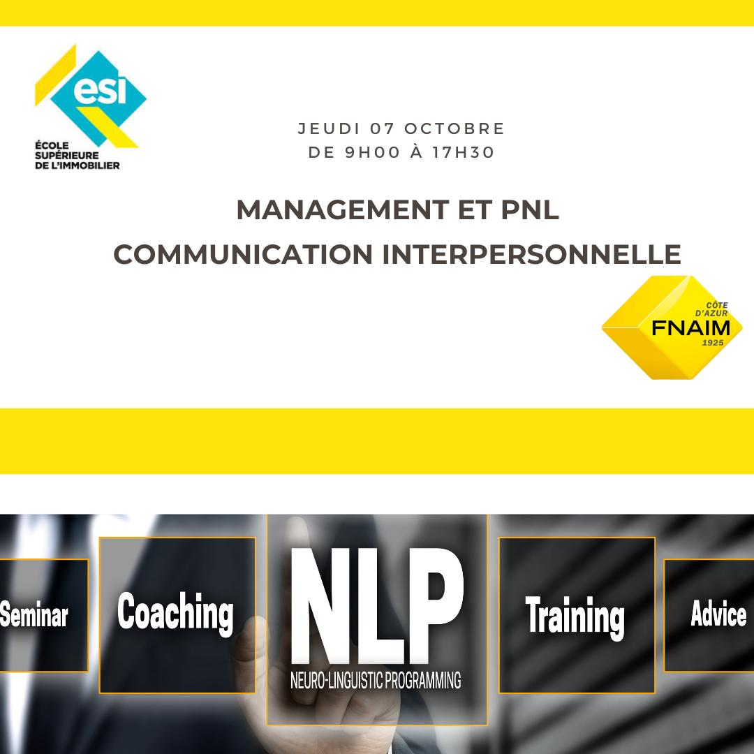 MANAGEMENT ET PNL COMMUNICATION INTERPERSONNELLE